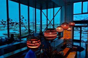 Northern Lights Bar at Ion Luxury Hotel, Iceland